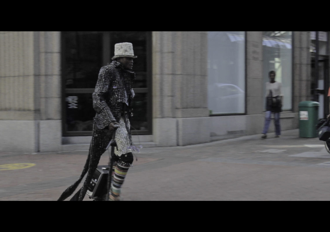 Techno Dandy, 2015 Video, colour, sound 12 minutes, Screen Shot 8 2015-01-25 at 2